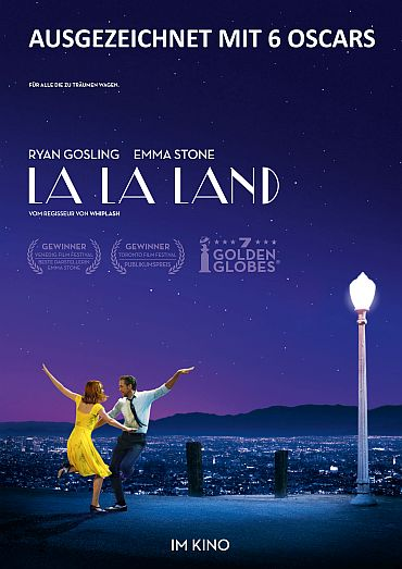 LA LA LAND IN ECLAIRCOLOR