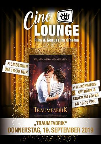 CINELOUNGE SEPTEMBER - TRAUMFABRIK